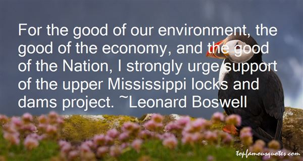 Leonard Boswell Quotes