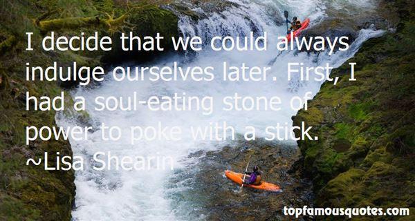 Lisa Shearin Quotes