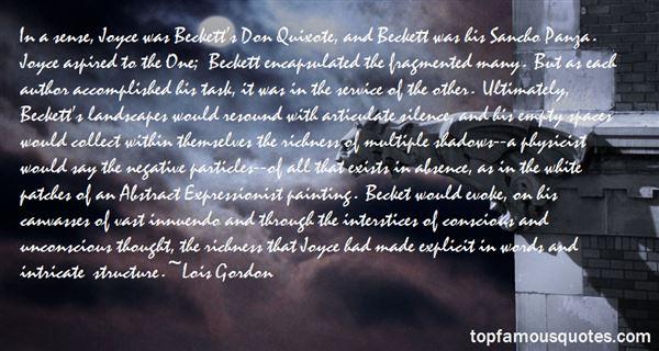 Lois Gordon Quotes