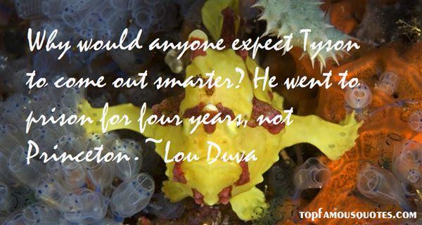 Lou Duva Quotes