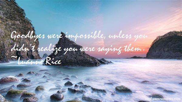 Luanne Rice Quotes