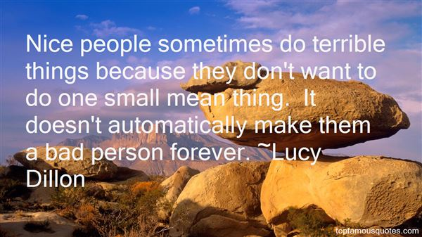 Lucy Dillon Quotes