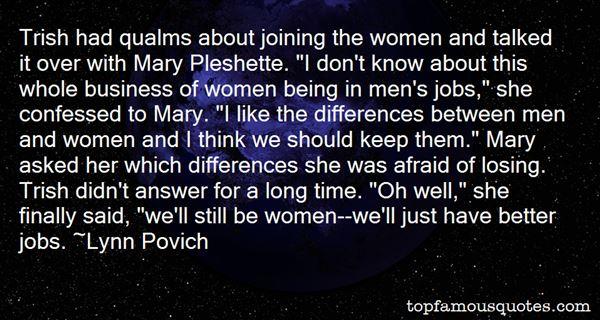 Lynn Povich Quotes