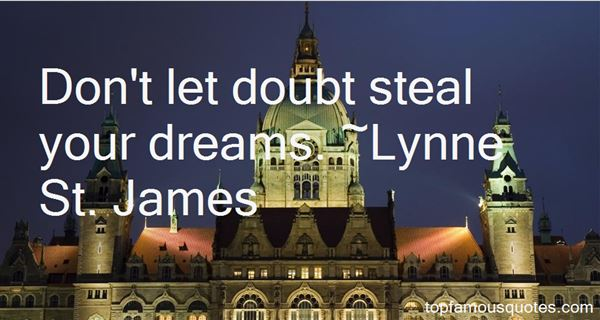 Lynne St. James Quotes