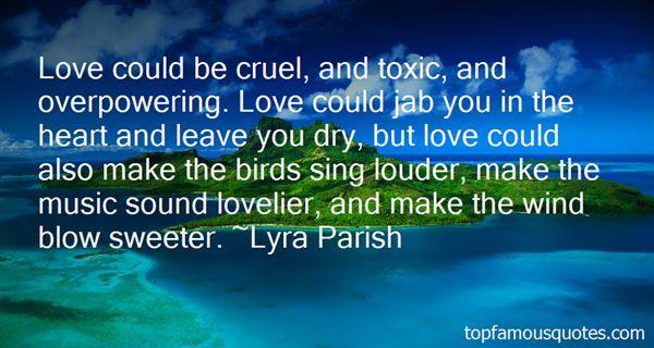 Lyra Parish Quotes