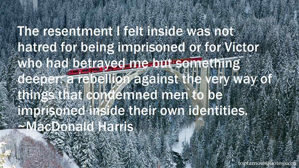 MacDonald Harris Quotes