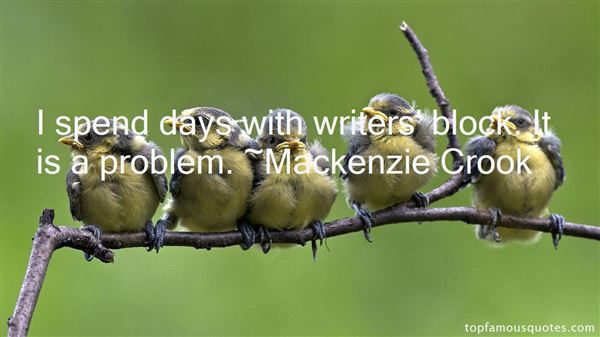 Mackenzie Crook Quotes