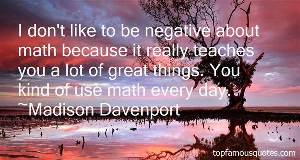 Madison Davenport Quotes