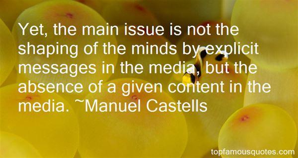 Manuel Castells Quotes