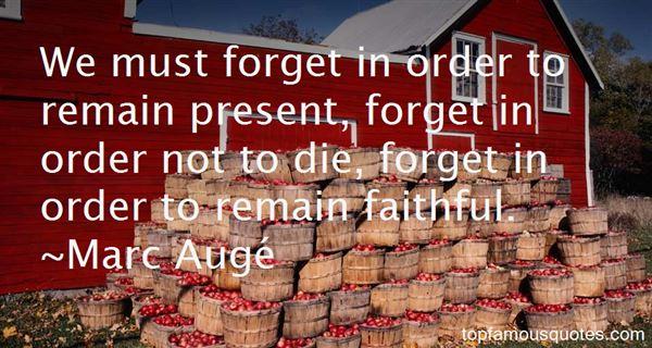 Marc Augé Quotes