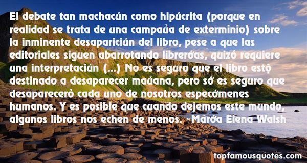 María Elena Walsh Quotes