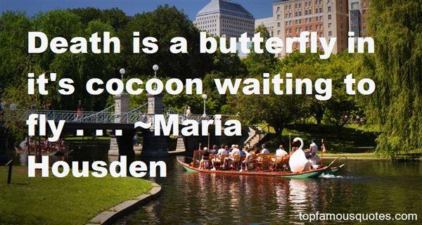 Maria Housden Quotes