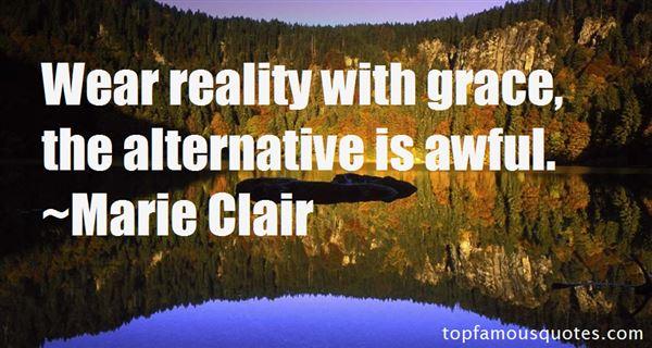 Marie Clair Quotes