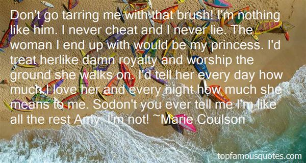Marie Coulson Quotes