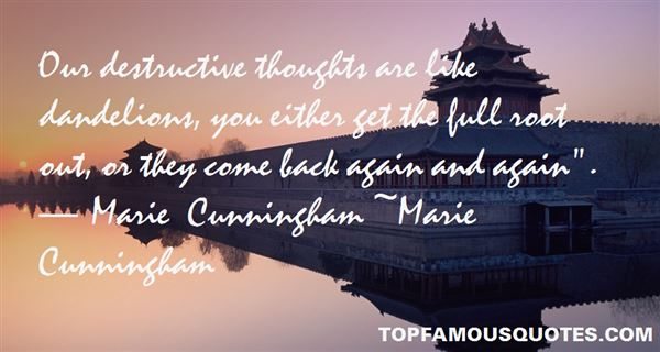 Marie Cunningham Quotes