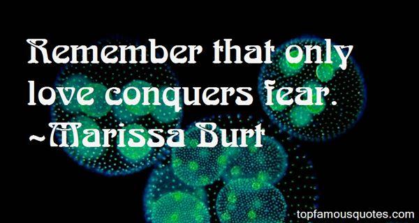 Marissa Burt Quotes