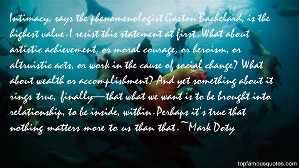 Mark Doty Quotes