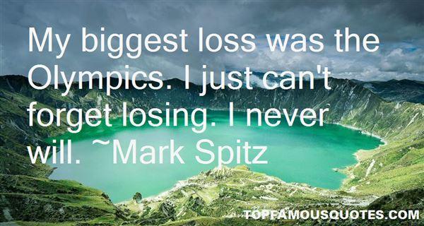 Mark Spitz Quotes