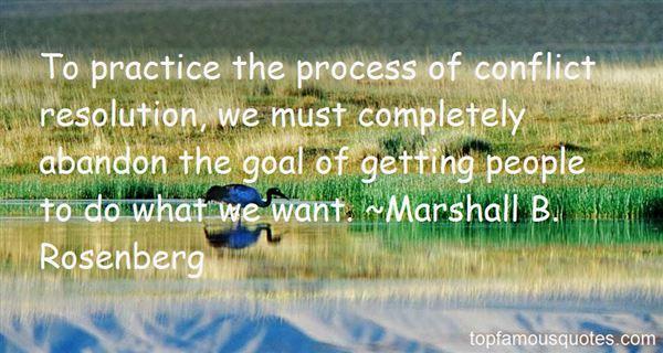 Marshall B. Rosenberg Quotes