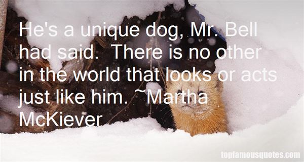 Martha McKiever Quotes