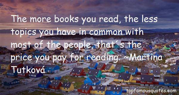 Martina Tutková Quotes