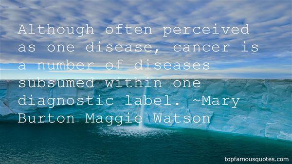 Mary Burton Maggie Watson Quotes