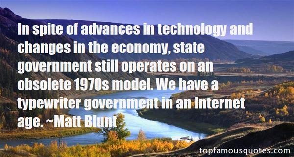 Matt Blunt Quotes