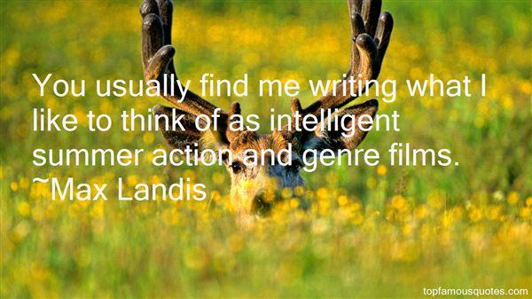 Max Landis Quotes
