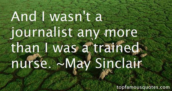 May Sinclair Quotes