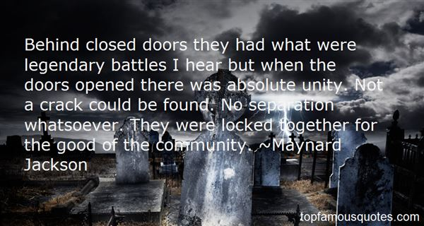 Maynard Jackson Quotes