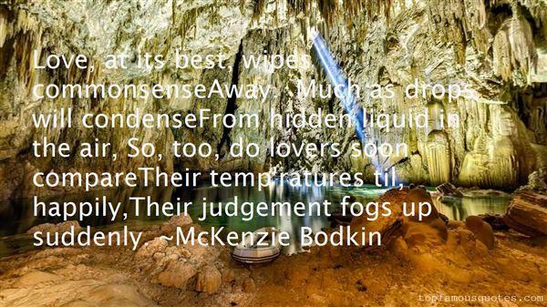 McKenzie Bodkin Quotes