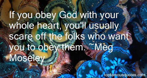 Meg Moseley Quotes