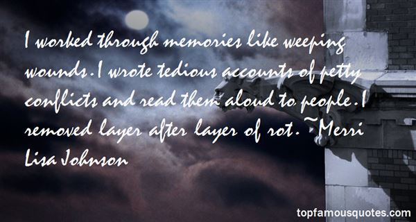 Merri Lisa Johnson Quotes