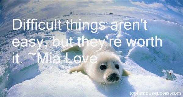 Mia Love Quotes