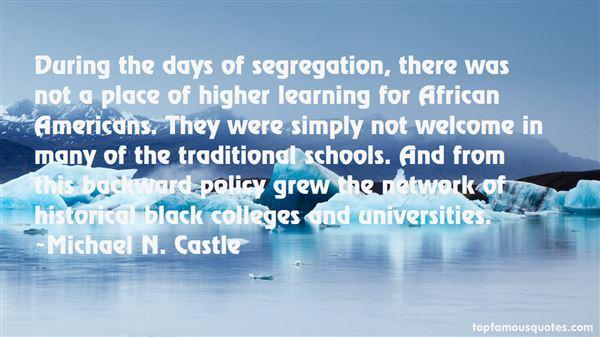 Michael N. Castle Quotes