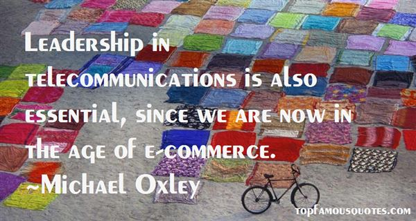 Michael Oxley Quotes