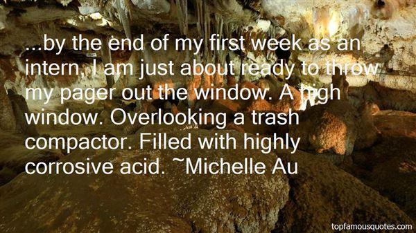 Michelle Au Quotes