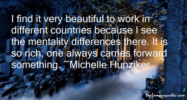 Michelle Hunziker Quotes