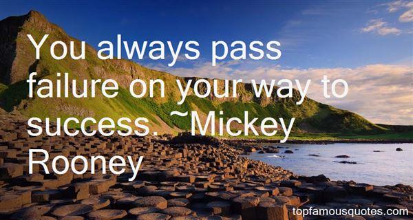 Mickey Rooney Quotes