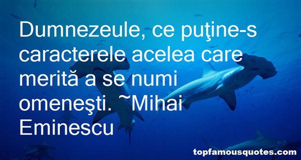 Mihai Eminescu Quotes