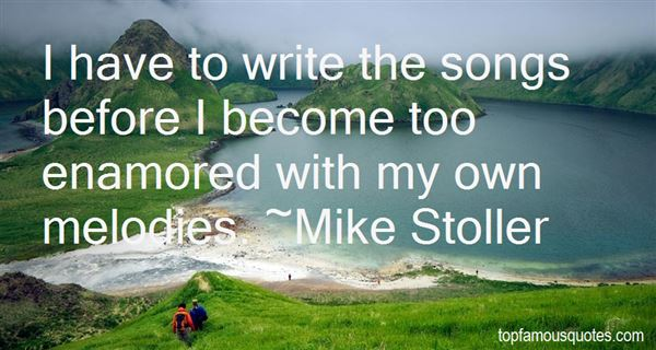 Mike Stoller Quotes