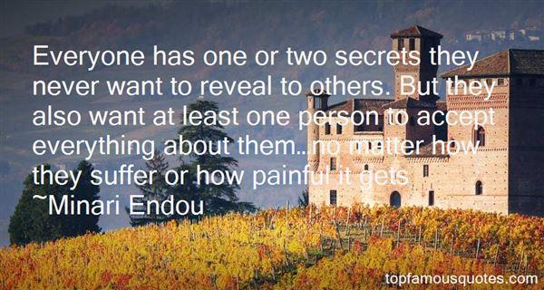 Minari Endou Quotes