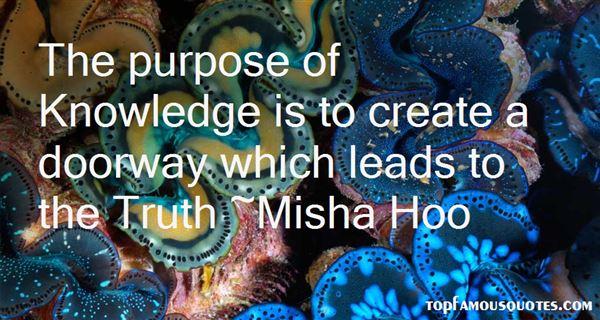 Misha Hoo Quotes