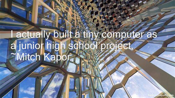 Mitch Kapor Quotes