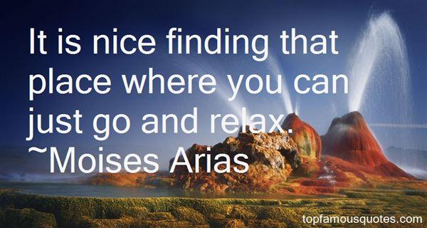 Moises Arias Quotes