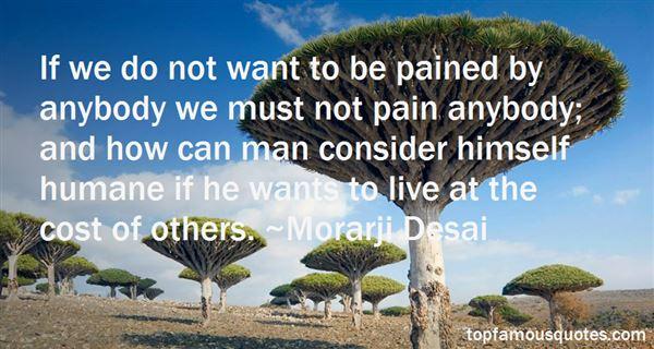 Morarji Desai Quotes