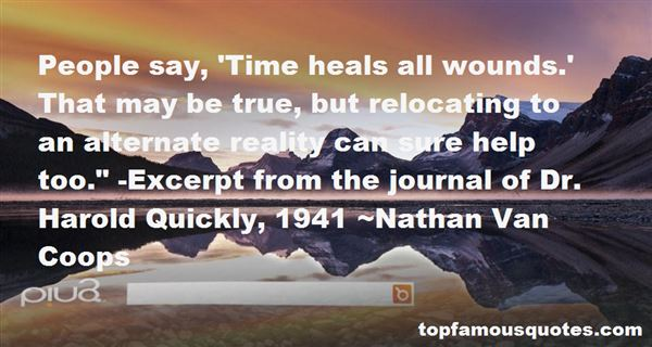 Nathan Van Coops Quotes