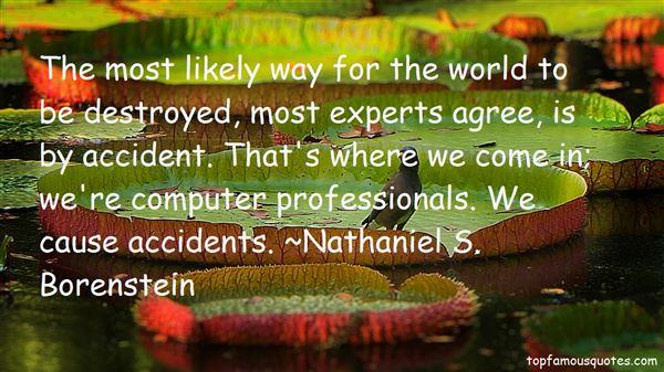 Nathaniel S. Borenstein Quotes