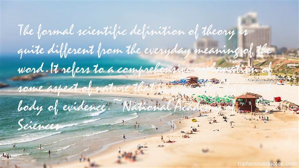 National Academy Of Sciences Quotes