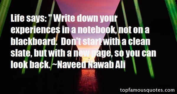 Naveed Nawab Ali Quotes